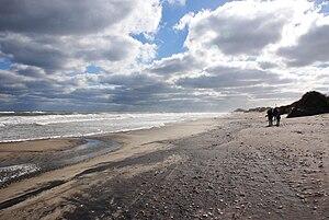 English: Beach near Nags Head, North Carolina.