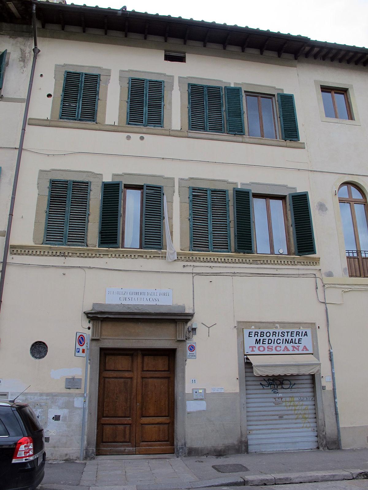 Casa di Lorenzo Ghiberti  Wikipedia