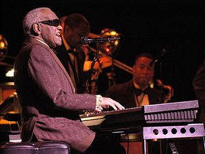 Last concert of Ray Charles, at Salle Wilfrid-...
