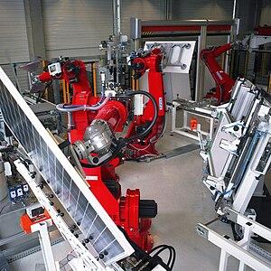 robot for solar industry