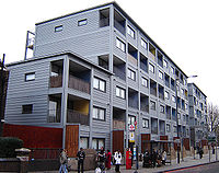 Raines Court Is A Multi Story Modular Housing Block In Stoke Newington London One Of The First Two Residential Buildings Britain This Type