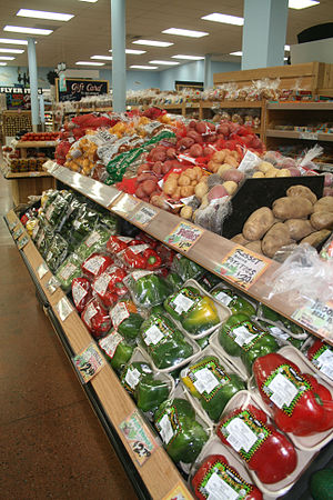 English: Trader Joe's produce