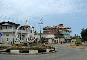 English: Tanga, Tanzania, town centre Français...