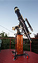 English: The Great Wetherell Refractor - a ste...