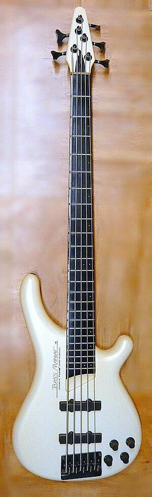5 strings bass guitar TUNE BASS MANIAC