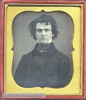 English: Daguerreotype portrait of William Aus...