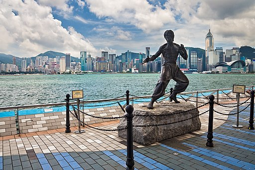 Avenue of Stars Hong Kong Bruce Lee Statue