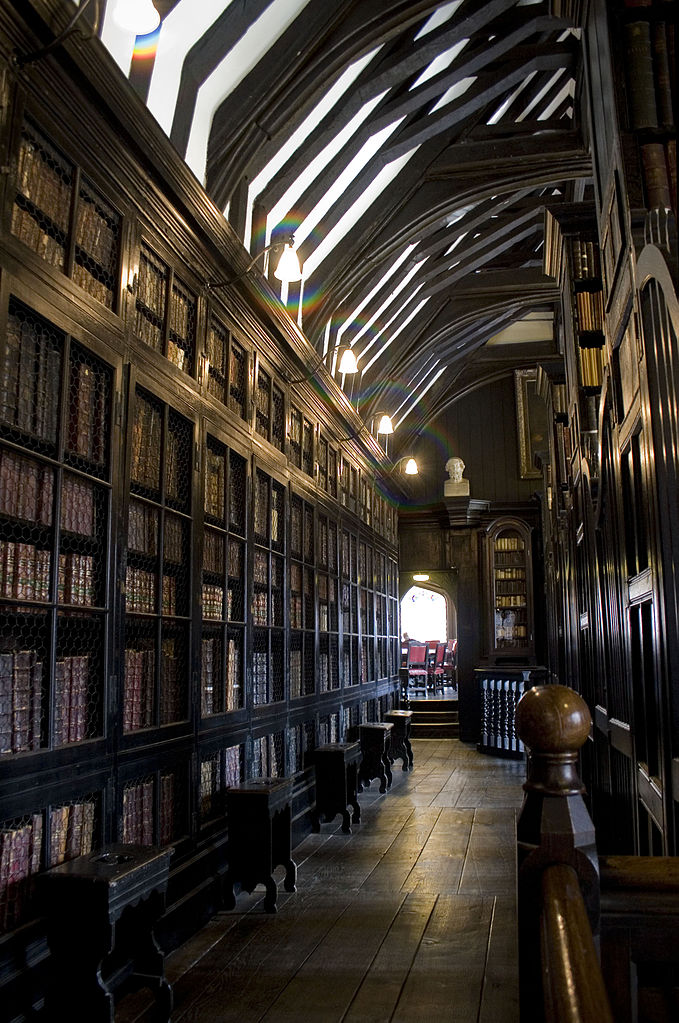 Chethams library interior