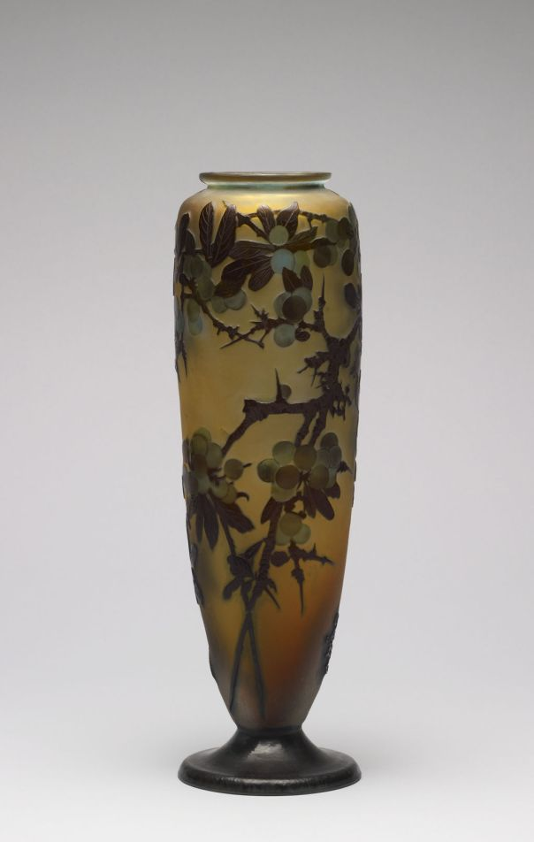 Emile Gallé - Vase with Cherry Tree Branches - Walters 47570