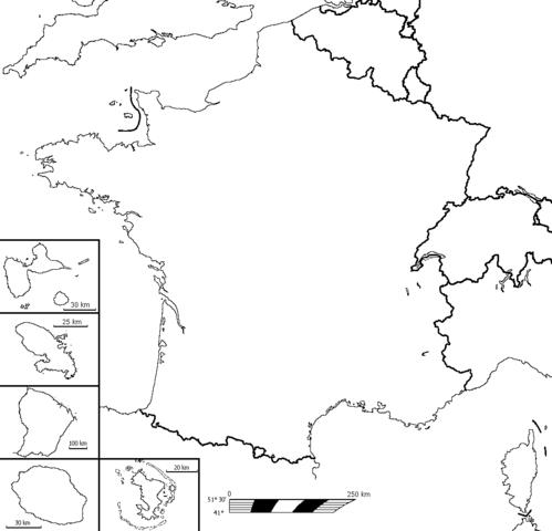 Fond De Carte France Outre Mer