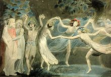 Oberon, Titania & Puck Fancy a Dance With Faeries