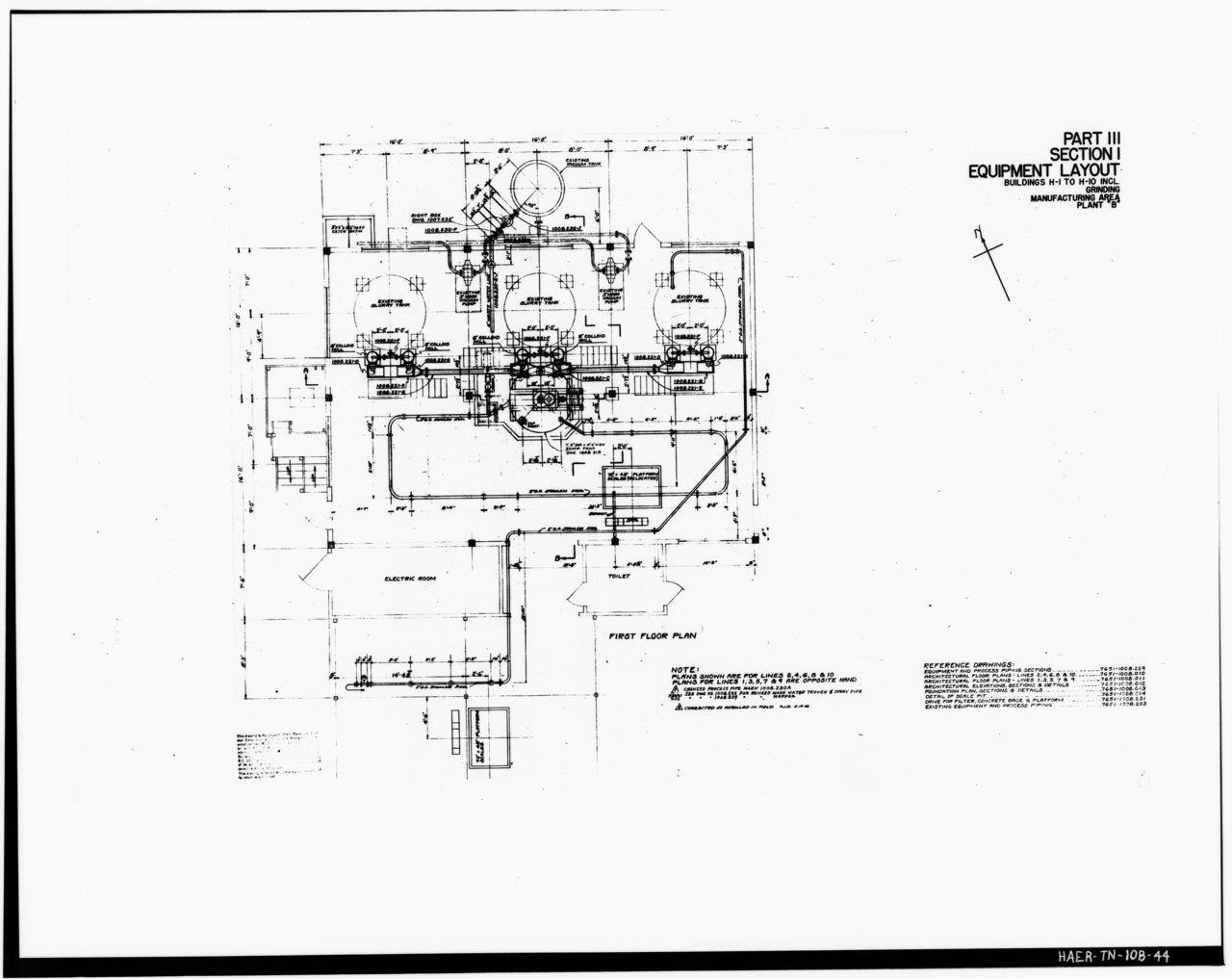 File Photograph Of A Line Drawing Plan Layout Of Part