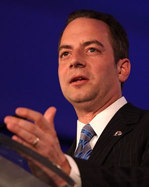 English: Reince Priebus at the Republican Lead...