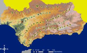 Localización de las principales unidades del r...