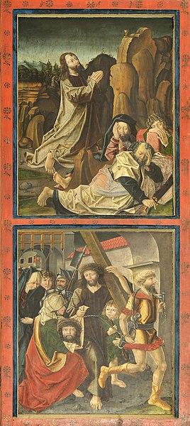 File:Sankt Ingenuin und Albuin in Saubach Passionstafeln.jpg
