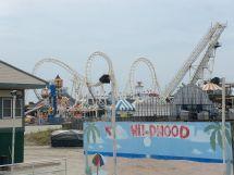 Sea Serpent Morey's Piers Roller Coaster