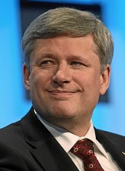 Stephen Harper, Canadian politician