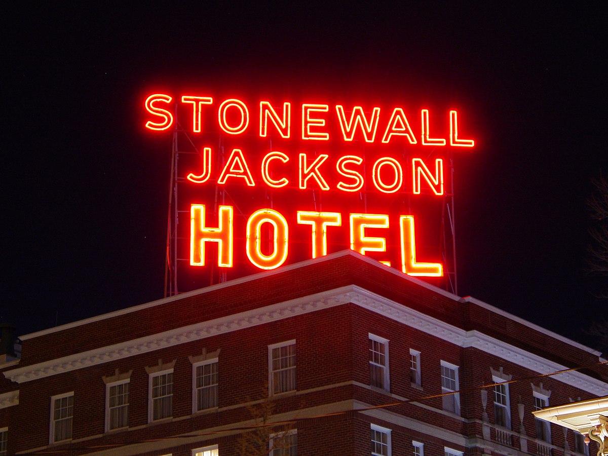 Stonewall Jackson Hotel  Wikipedia