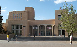 English: Zimmerman Library at UNM.