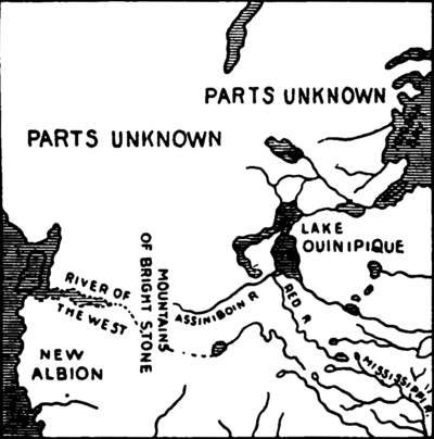 Oregon Country : Map (The Full Wiki)