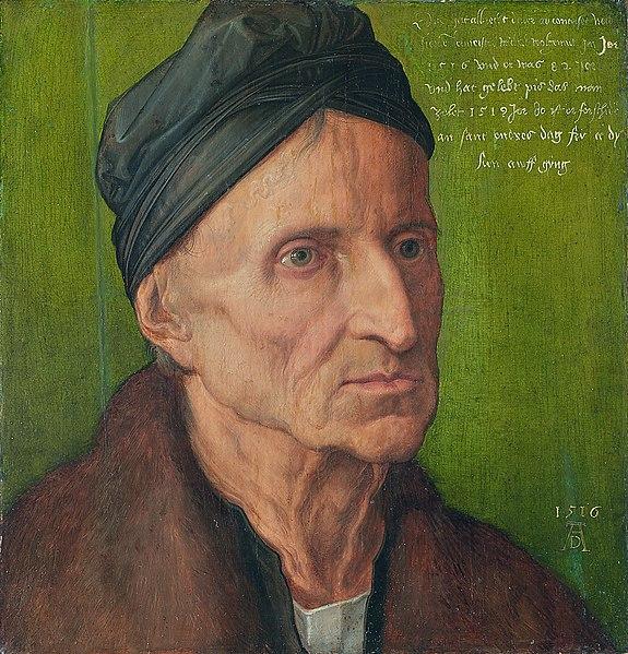 File:Albrecht Dürer - Portrait of Michael Wolgemut - WGA07001.jpg