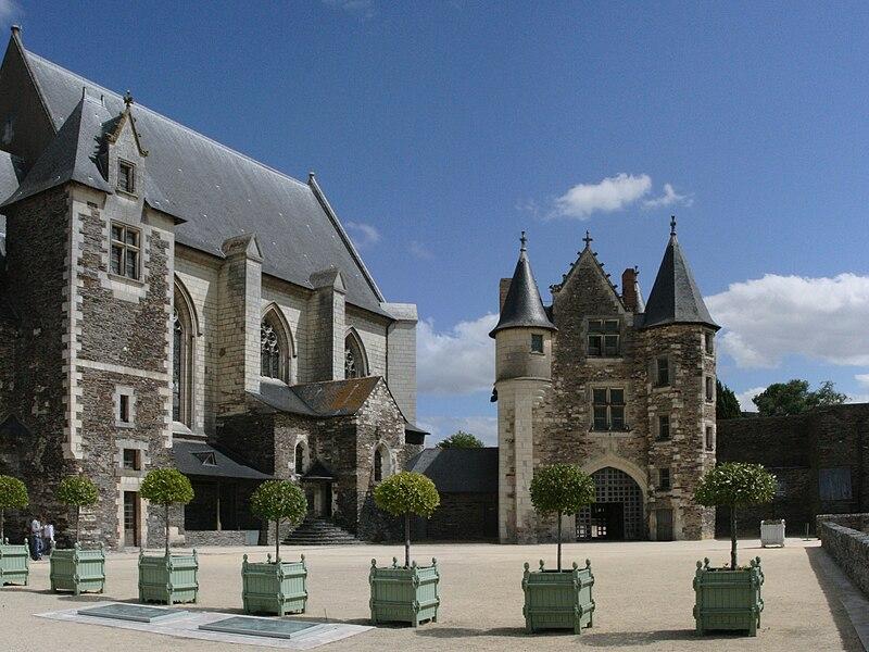 Angers - Château - Haute-cour - 20080921