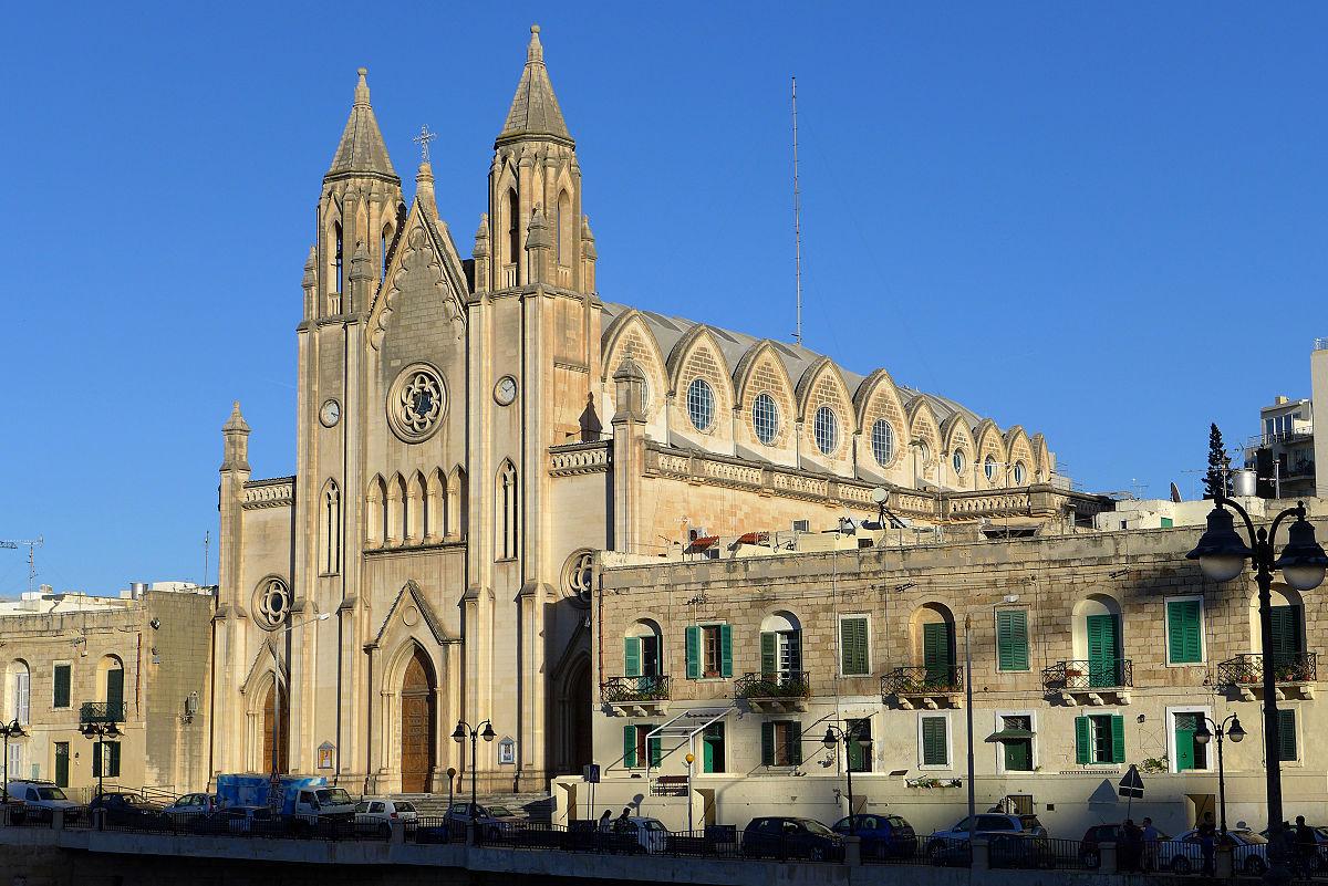 Carmelite Church Balluta  Wikipedia