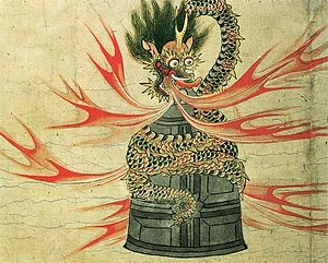 Kiyohime (Woman who transformed into a serpent...