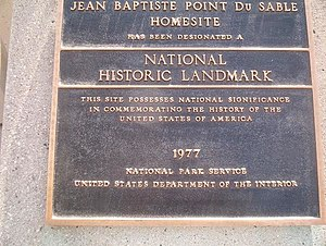 du Sable National Historic Landmark, (Referenc...