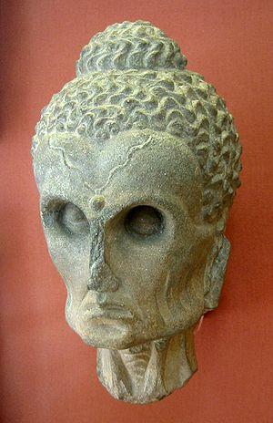 The Buddha as an ascetic. Gandhara, 2-3rd cent...