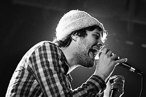 English: Passion Pit at the Mezzanine (San Fra...