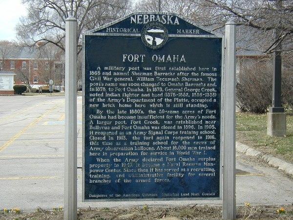 Historic Fort Omaha Nebraska