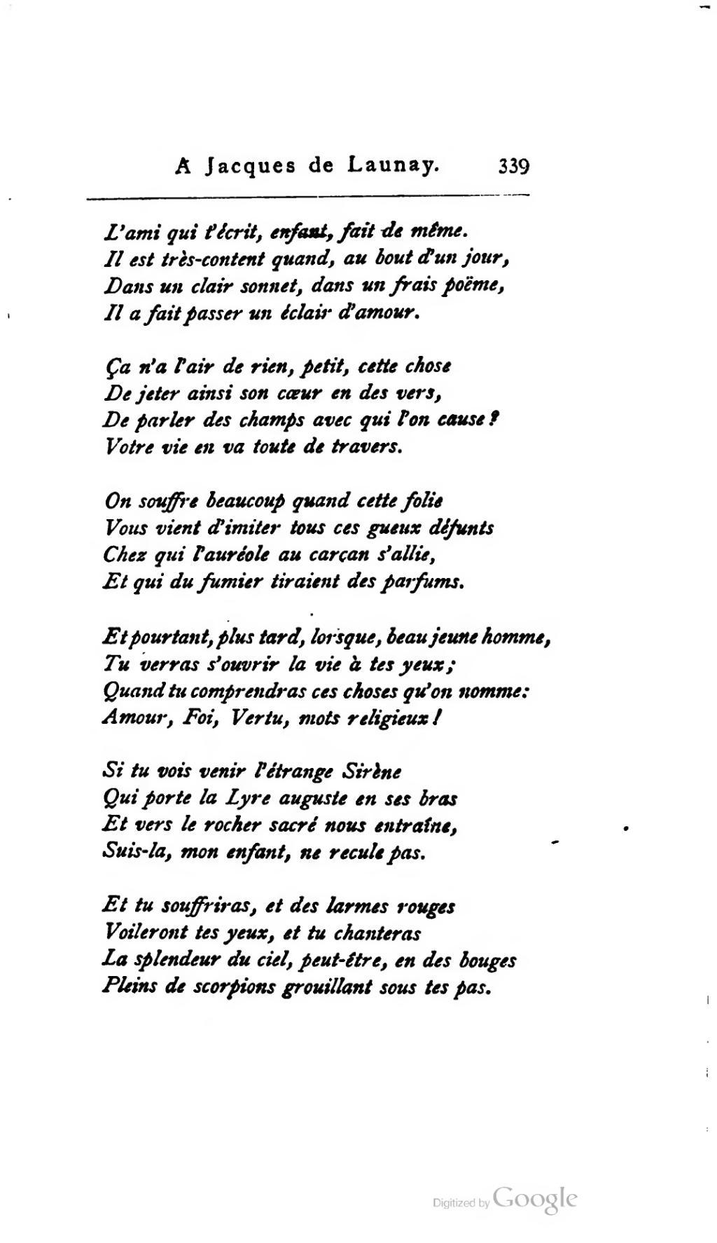 Rien Qu'une Larme Dans Tes Yeux : qu'une, larme, Page:Glatigny, Œuvres,, Lemerre.djvu/398, Wikisource