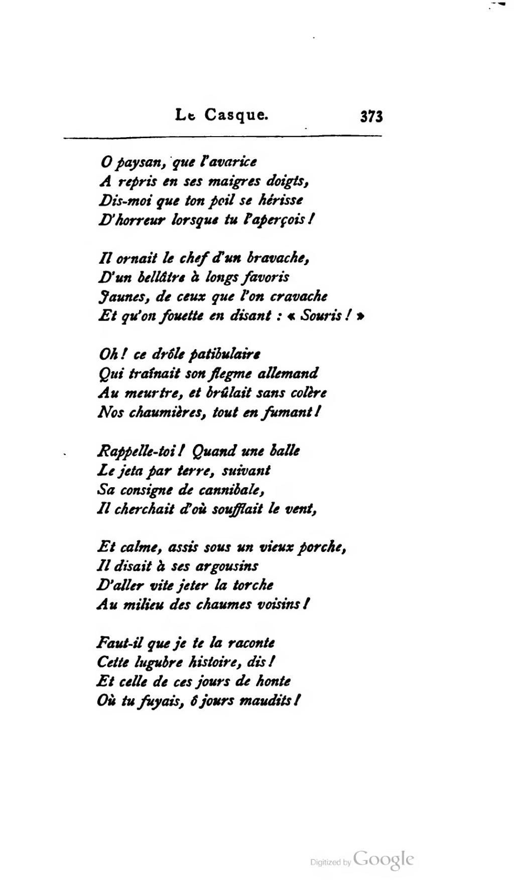 Histoire D Horreur A Raconter : histoire, horreur, raconter, Page:Glatigny, Œuvres,, Lemerre.djvu/432, Wikisource