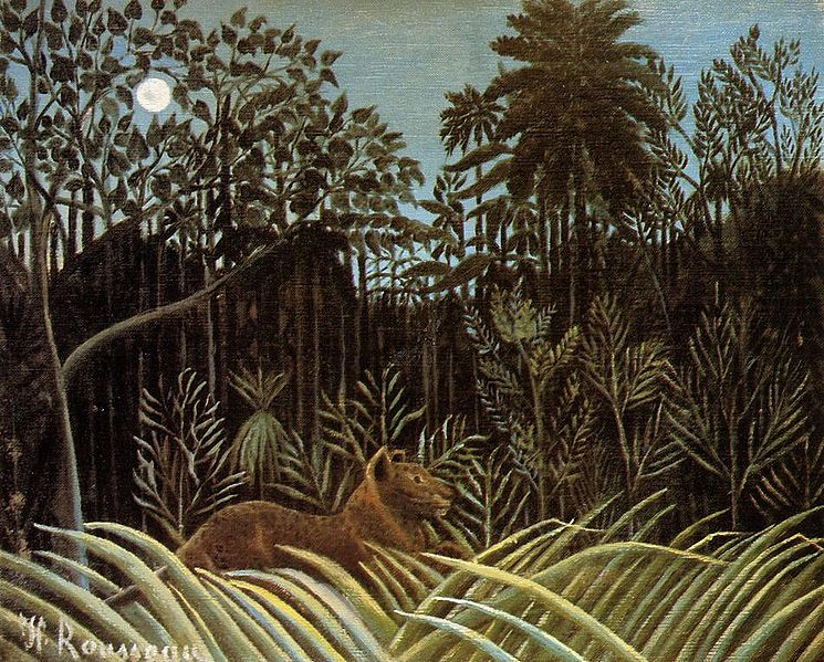 File:Henri Rousseau - Jungle with Lion.jpg