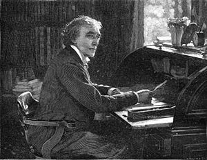 English: A photograph of Henry Irving taken fo...
