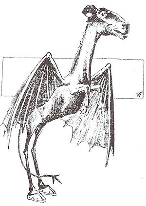Jersey Devil strip from 1909