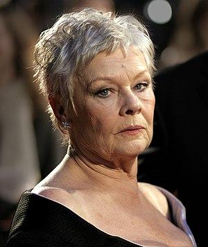 Judi Dench at the BAFTAs at the Royal Opera Ho...