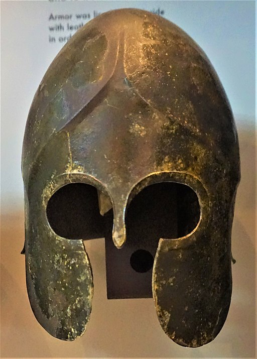 Macedonian Army Helmet - Archaeological Museum of Thessaloniki by Joy of Museums