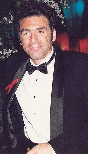 Photo of actor Michael Richards at the 1993 Em...