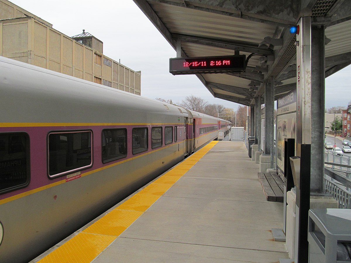 Mbta Commuter Rail South Station