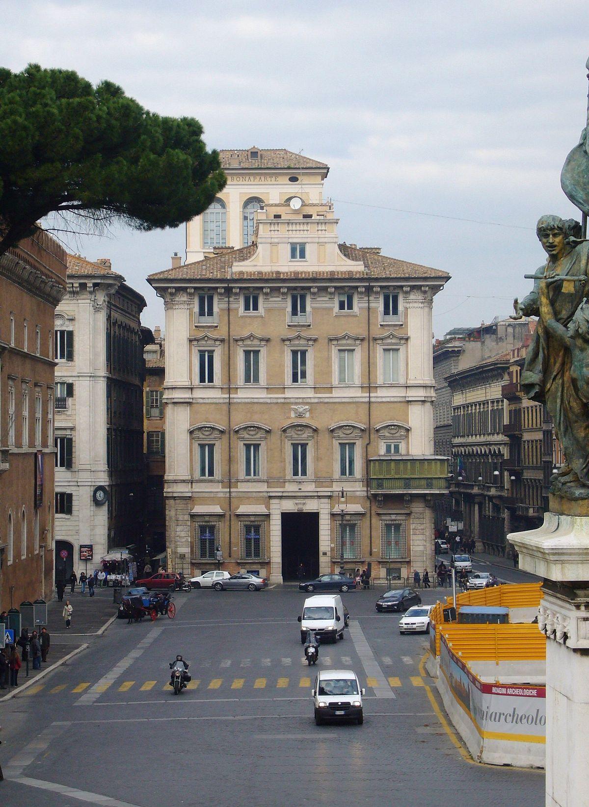 Palazzo Bonaparte Roma  Wikipedia