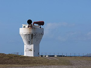 English: Point of Ayre foghorn