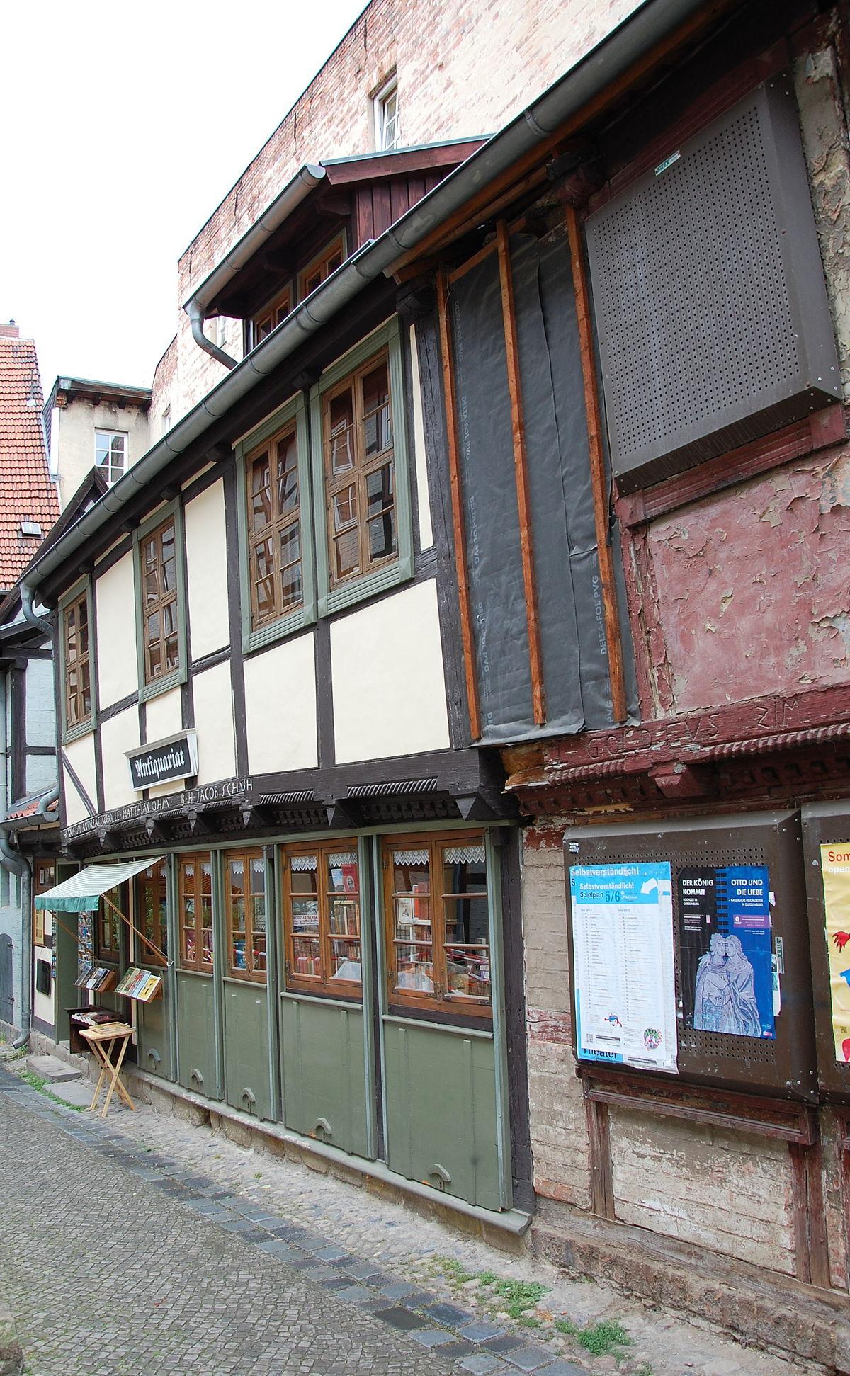 Schuhhof 2 Quedlinburg  Wikipedia
