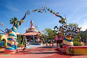Suess Landing at Universal Studios' Islands of...