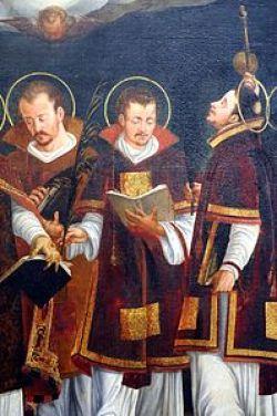 sveti Sisinij, Martirij in Aleksander - diakon, lektor in ostiarij, mučenci