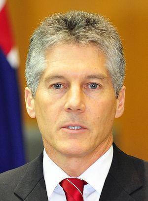 Australian Minister for Foreign Affairs Stephe...