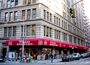 English: The Strand Book Store, Manhattan.