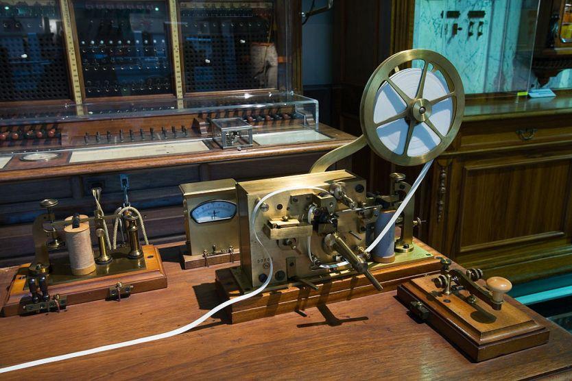 Vienna - Morse telegraph machine - 0135