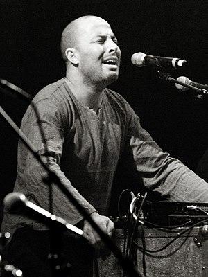 Youssef Dhafer at Moers Festival, June 2006, G...